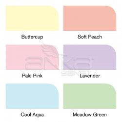 Winsor&Newton - Winsor&Newton Promarker 6lı Set Pastel Tones (1)