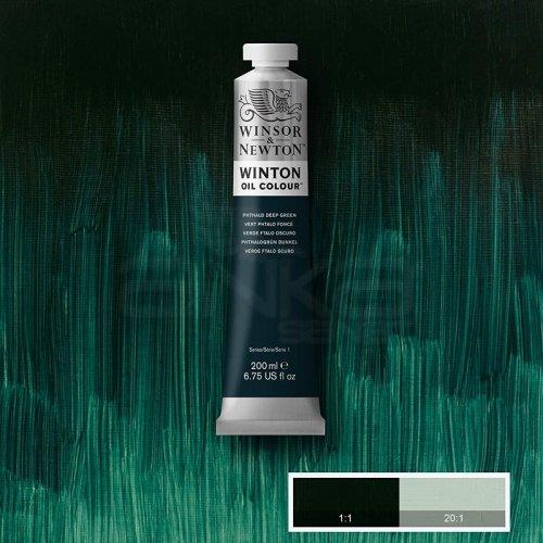 Winsor&Newton Winton Yağlı Boya 200ml 048 Phthalo Deep Green