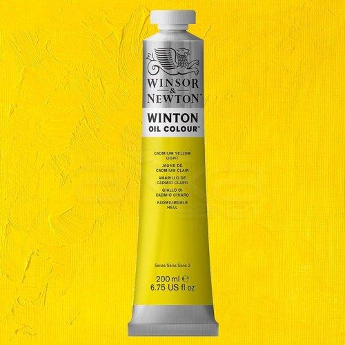 Winsor&Newton Winton Yağlı Boya 200ml 113 Cadmium Yellow Light