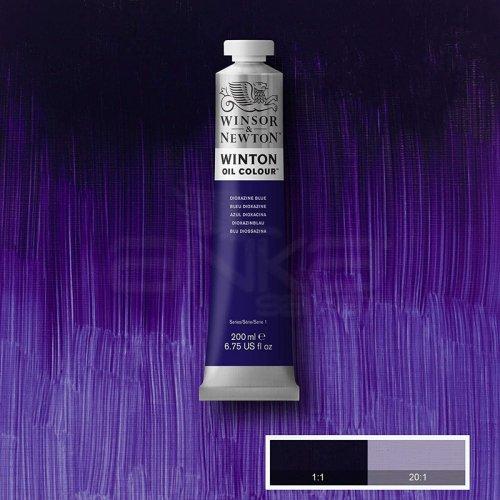 Winsor&Newton Winton Yağlı Boya 200ml 406 Dioxazine Blue