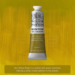 Winsor&Newton - Winsor&Newton Winton Yağlı Boya 37ml 280 Azo Yellow Green