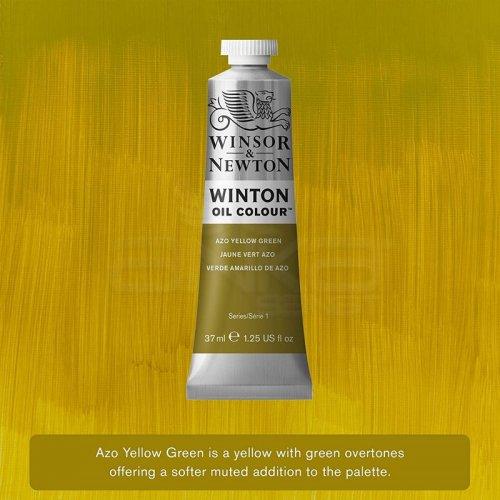 Winsor&Newton Winton Yağlı Boya 37ml 280 Azo Yellow Green - 280 Azo Yellow Green