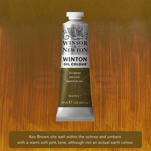 Winsor&Newton Winton Yağlı Boya 37ml 389 Azo Brown - 389 Azo Brown