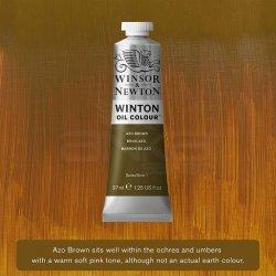 Winsor&Newton - Winsor&Newton Winton Yağlı Boya 37ml 389 Azo Brown
