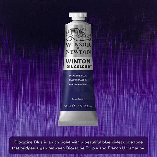 Winsor&Newton Winton Yağlı Boya 37ml 406 Dioxazine Blue - 406 Dioxazine Blue