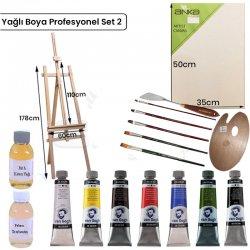 Anka Özel Ürün - Yağlı Boya Profesyonel Set 2