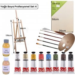 Anka Özel Ürün - Yağlı Boya Profesyonel Set 4