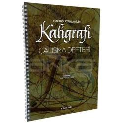 Yeni Başlayanlar İçin Kaligrafi Çalışma Defteri Ömer Faruk Dere - Thumbnail