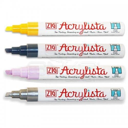 Zig Acrylista Markör Kesik Uç PAC-50 Akrilik Marker Kalem