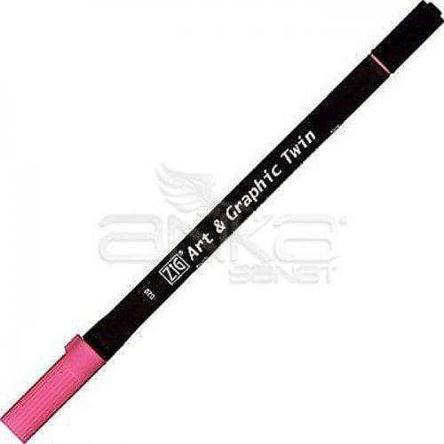 Zig Art & Graphic Twin Brush Pen Çift Uçlu Çizim Kalemi 80li Set TUT-80/80V