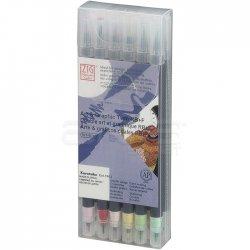 Zig - Zig Art & Graphic Twin RB+F Çift Uçlu Çizim Kalemi 12li Set TUT-95/12VPA