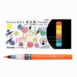 Zig Cambio Tambien Medium Brush Tip Fırça Uçlu Kalem 6lı Set - Thumbnail