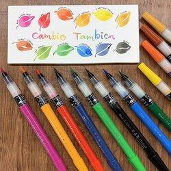 Zig - Zig Cambio Tambien Medium Brush Tip Fırça Uçlu Kalem (1)