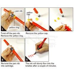 Zig Cambio Tambien Medium Brush Tip Fırça Uçlu Kalem - Thumbnail