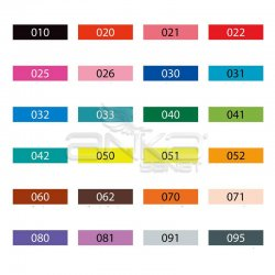 Zig - Zig Clean Color f Çift Uçlu Marker Kalem 24lü Set (1)