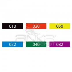 Zig - Zig Clean Color f Çift Uçlu Marker Kalem 6lı Set (1)