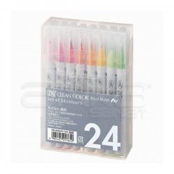 Zig - Zig Clean Color Real Brush Fırça Uçlu Marker Kalem 24lü Set