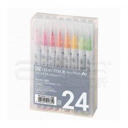 Zig Clean Color Real Brush Fırça Uçlu Marker Kalem 24lü Set - Thumbnail
