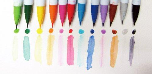 Zig Clean Color Real Brush Fırça Uçlu Marker Kalem