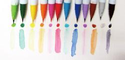 Zig - Zig Clean Color Real Brush Fırça Uçlu Marker Kalem (1)