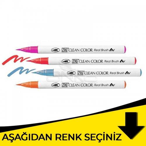 Zig Clean Color Real Brush Fırça Uçlu Marker Kalem Sarı Tonlar