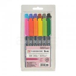 Zig - Zig Fudebiyori Brush Pen Yaldızlı 12li