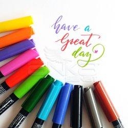 Zig - Zig Fudebiyori Brush Pen Yaldızlı Fırça Uçlu Marker Kalem