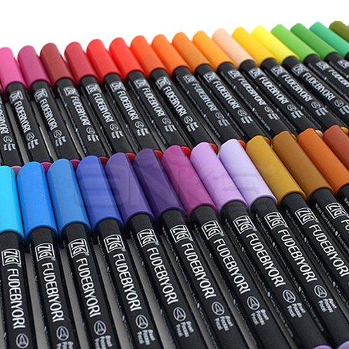 Zig Fudebiyori Brush Pen Yaldızlı Fırça Uçlu Marker Kalem