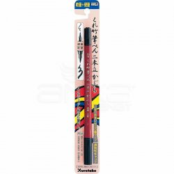 Zig - Zig Fudepen Nıhon-Date Kabura Fırça Uçlu Kalem Siyah DF150-55B (1)