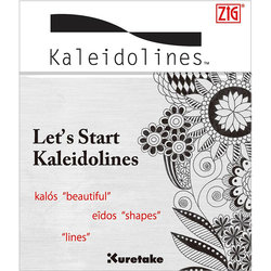 Zig - Zig Kaleidolines Desen-Çizim Başlangıç Kitapçığı (1)