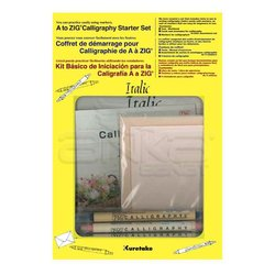 Zig - Zig Kaligrafi Başlangıç Seti İtalik MSST-001 (1)
