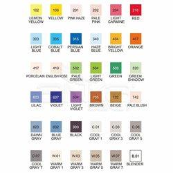 Zig Kurecolor Twin Karışık Renkler 36lı Marker Set - Thumbnail