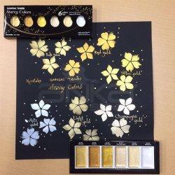 Zig - Zig Kuretake Gansai Tambi Sulu Boya Seti 6lı Starry Colors (1)