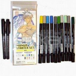 Zig Manga Kalem Seti-Starter Set Boy - Thumbnail