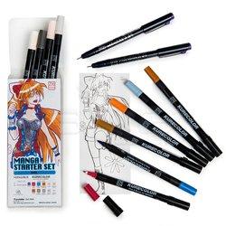 Zig - Zig Manga Kalem Seti-Starter Set Girl (1)