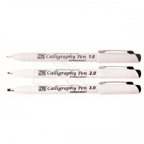 Zig Permanent Callighraphy Pen Kaligrafi Kalemi