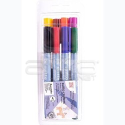 Zig - Zig Suitto Crafters Permanent Brush Medium 8 Renk 1mm~4mm SC-55/8V (1)