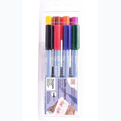 Zig - Zig Suitto Crafters Permanent Brush Fine 8 Renk 0.5mm SC-220 (1)