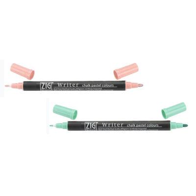 Zig Writer Chalk Pastel Colours Çift Uçlu Marker Kalem