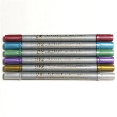 Zig Writer Metallic Colours Çift Uçlu Marker Kalem